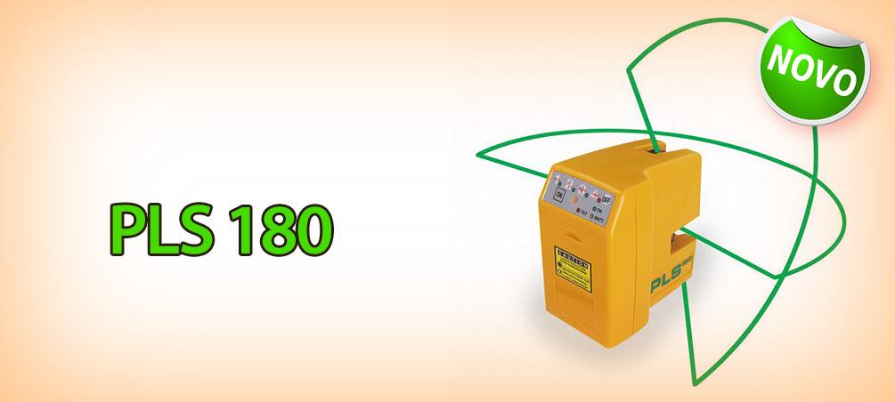 Nível a Laser PLS 180 Green Beam (Laser Verde)